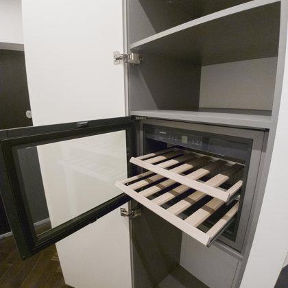 Moderni spinta, vyno šaldytuvas. Individualus užsakymas