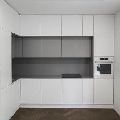 Minimalistiniai virtuvės baldai, IVES Furniture, Vilnius